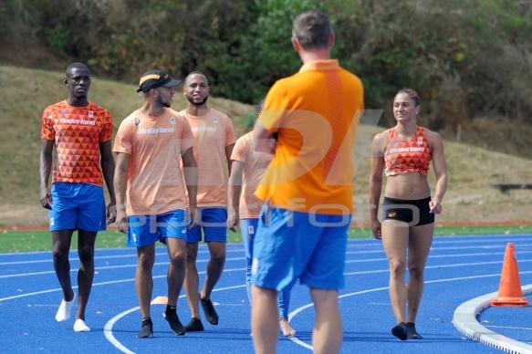 Teampresentatie EK Atletiek